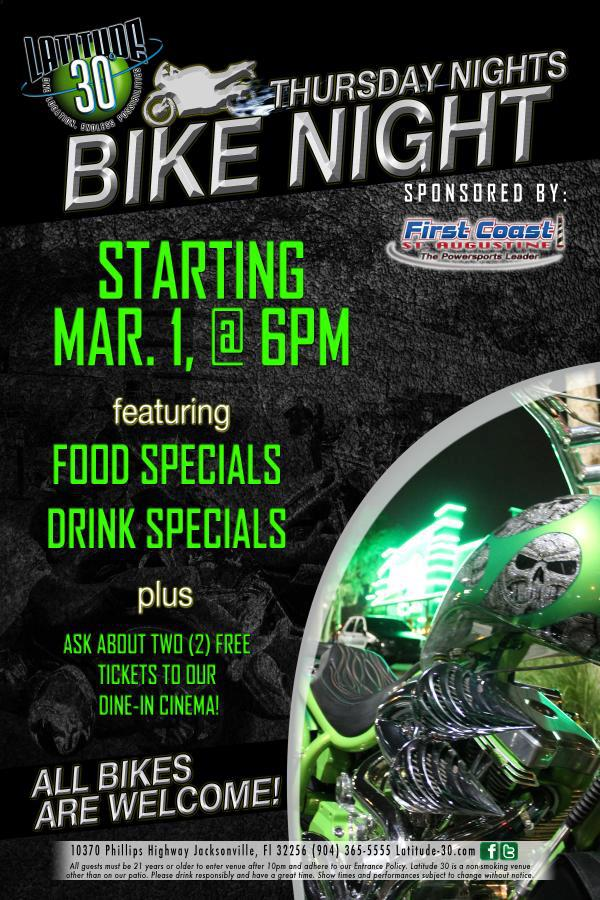 Florida Bike Nights, Slick's Scooter Schedule, www ...